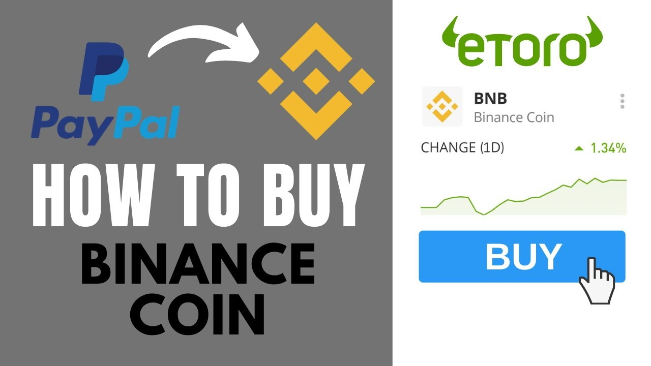 Buy Binance Coin with Paypal