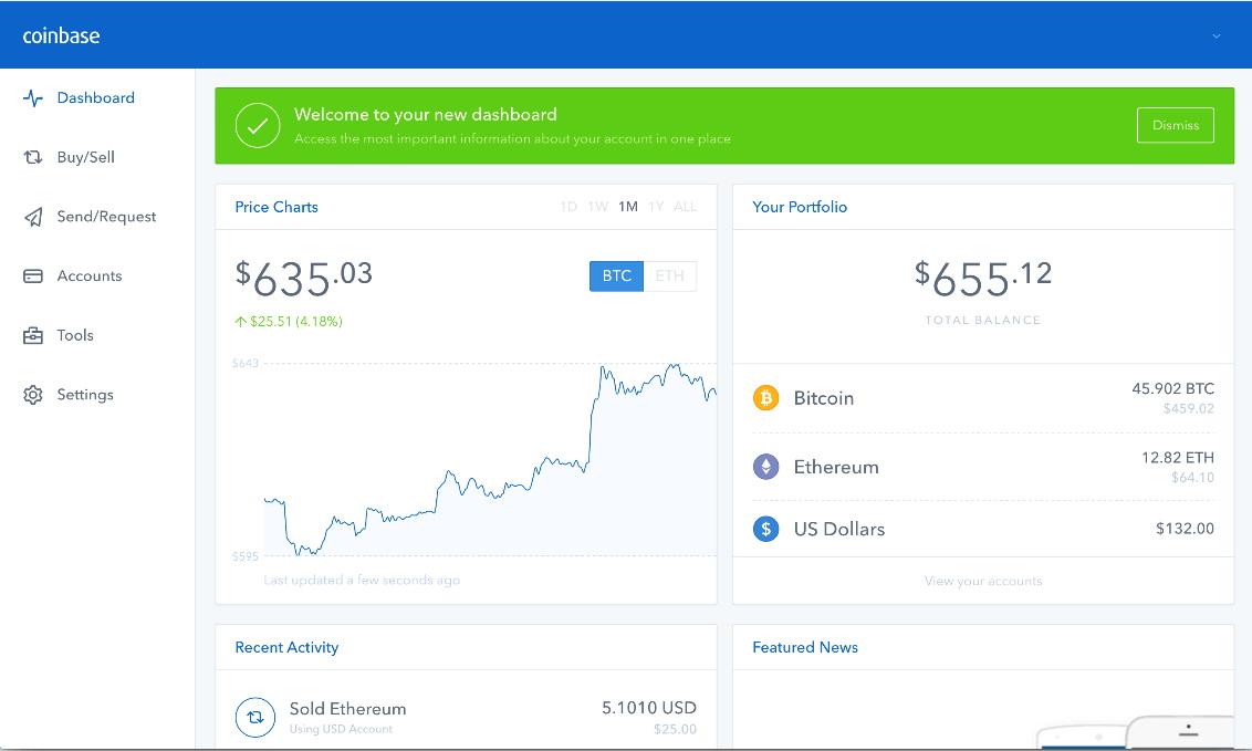 Coinbase rating