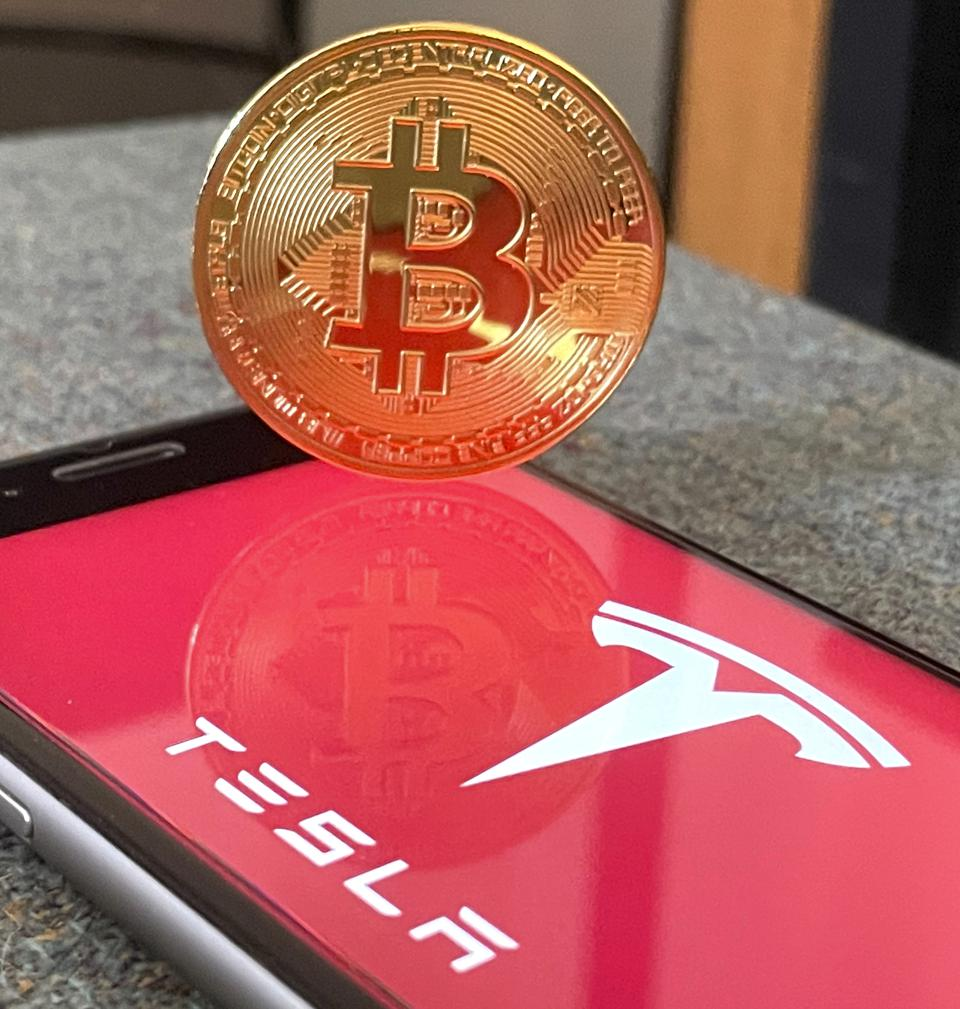 Tesla writes  bitcoin dynamics