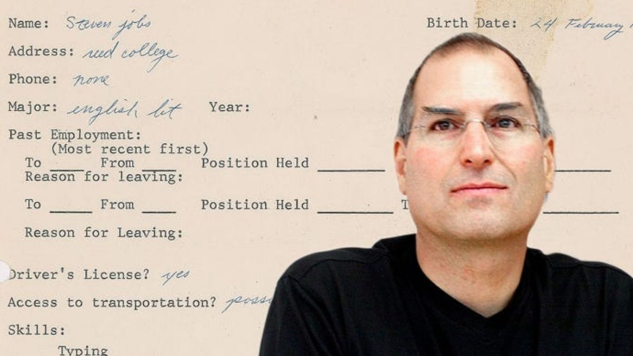 Unknown person bought Steve Jobs' NFT resume for 12 ETH