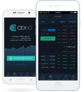 CEX.IO-Mobile