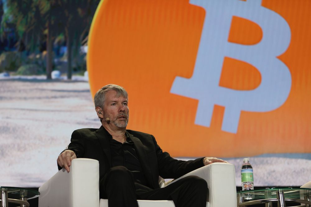 Michael Saylor compares bitcoin to property you don't part with