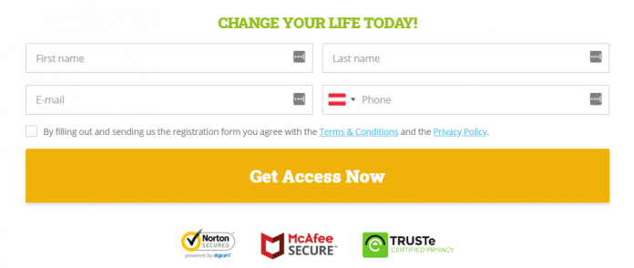 first step is to register