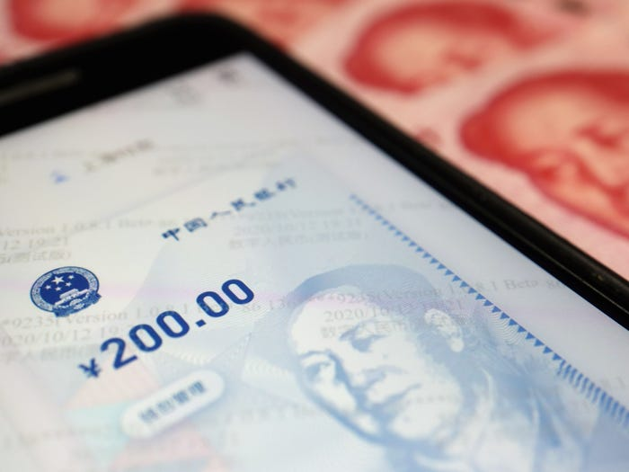 China's commercial banks have opened up customers to the digital yuan